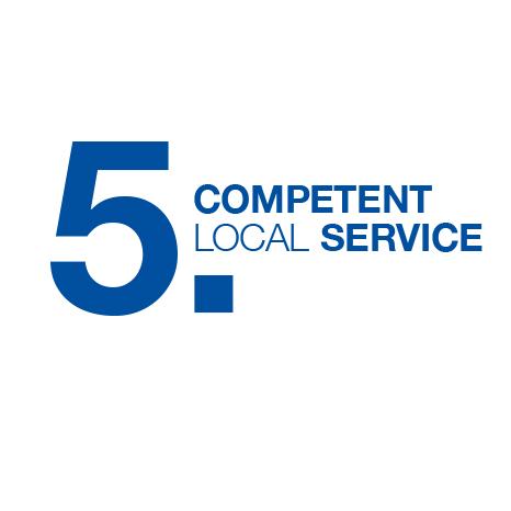 Competent local service